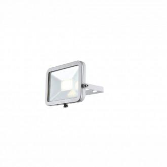 GLOBO 34223 | Projecteur_II Globo fényvető lámpa elforgatható alkatrészek 1x LED 640lm 4000K IP65 fehér, ezüst, átlátszó