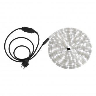 GLOBO 38961 | LightTube Globo fénytömlő fehér fénykábel - 6 m 144x LED 288lm 5500K IP44 fehér