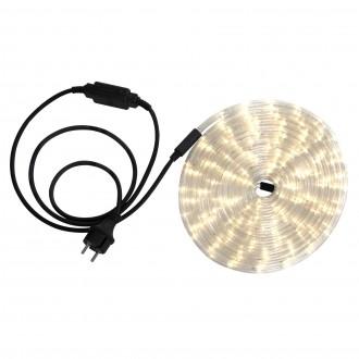 GLOBO 38962 | LightTube Globo fénytömlő meleg fehér fénykábel - 6 m 144x LED 288lm 2600K IP44 meleg fehér