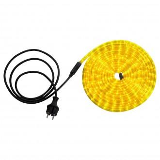 GLOBO 38965 | LightTube Globo fénytömlő lámpa 144x LED 87lm IP44 sárga