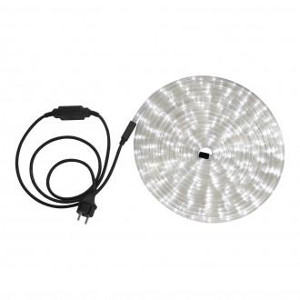 GLOBO 38971 | LightTube Globo fénytömlő fehér fénykábel - 9 m 216x LED 432lm 5500K IP44 fehér