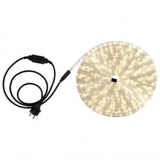 GLOBO 38972 | LightTube Globo fénytömlő meleg fehér fénykábel - 9 m 216x LED 432lm 2600K IP44 meleg fehér