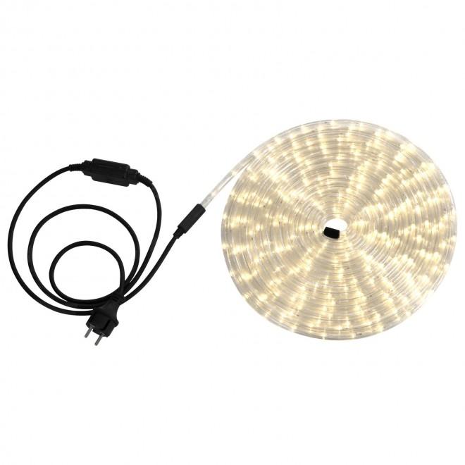 GLOBO 38972   LightTube Globo fénytömlő meleg fehér fénykábel - 9 m 216x LED 432lm 2600K IP44 meleg fehér