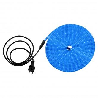 GLOBO 38973 | LightTube Globo fénytömlő lámpa 216x LED 216lm IP44 kék