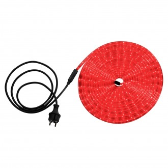 GLOBO 38974 | LightTube Globo fénytömlő lámpa 216x LED 130lm IP44 piros