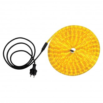 GLOBO 38975 | LightTube Globo fénytömlő lámpa 216x LED 130lm IP44 sárga