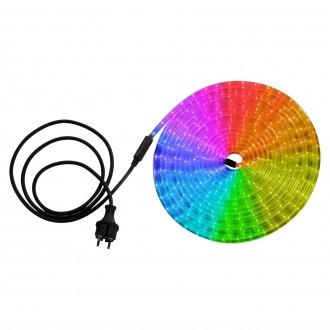 GLOBO 38976 | LightTube Globo fénytömlő lámpa 216x LED 238lm RGBK IP44 többszínű