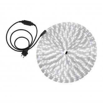 GLOBO 38981 | LightTube Globo fénytömlő fehér fénykábel - 18 m 432x LED 864lm 5500K IP44 fehér