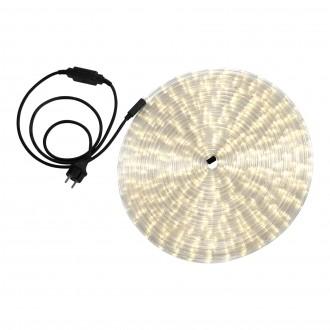 GLOBO 38982 | LightTube Globo fénytömlő meleg fehér fénykábel - 18 m 432x LED 864lm 2600K IP44 meleg fehér