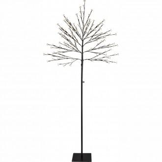 GLOBO 39129 | Viridis-I Globo álló lámpa 180cm 200x LED 300lm 3000K IP44 fekete, fehér