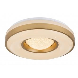GLOBO 41742-24 | Colla Globo mennyezeti lámpa 1x LED 1900lm 3000K fehér, csillogó