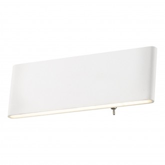 GLOBO 41751-8W | Siegfried Globo fali lámpa kapcsoló 1x LED 500lm 4000K fehér, opál
