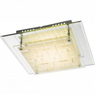 GLOBO 48212-12 | Nunjo Globo mennyezeti lámpa 1x LED 777lm 4000K króm, tükör, fehér