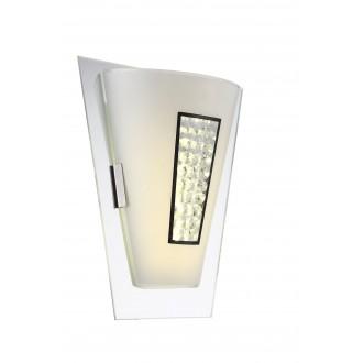 GLOBO 48240W | Amada Globo fali lámpa 1x LED 800lm 4000K króm, opál, átlátszó