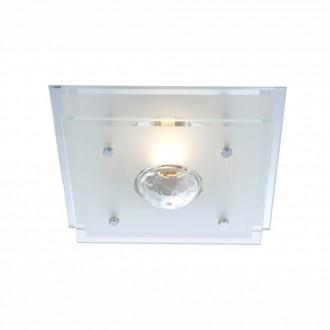 GLOBO 48328   Malaga Globo mennyezeti lámpa 1x E27 króm, átlátszó