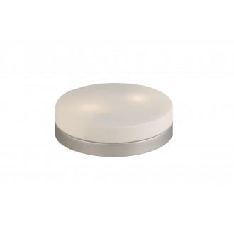 GLOBO 48402 | Opal-I Globo mennyezeti lámpa 2x E27 matt nikkel, opál