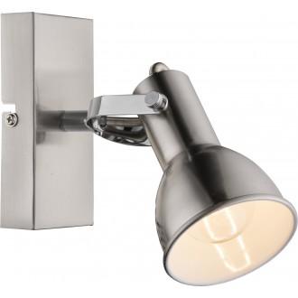 GLOBO 54642-1 | FargoG Globo spot lámpa elforgatható alkatrészek 1x E14 króm, matt nikkel