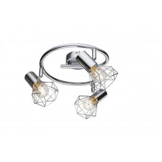 GLOBO 54802-3 | XaraG-I Globo spot lámpa elforgatható alkatrészek 3x E14 króm