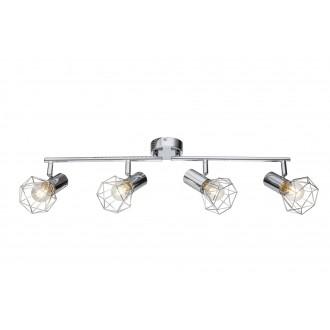 GLOBO 54802-4 | XaraG-I Globo spot lámpa elforgatható alkatrészek 4x E14 króm