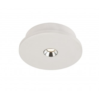 GLOBO 55010-1 | Christine-Timo Globo mennyezeti lámpa 1x LED 378lm 3000K fehér, króm