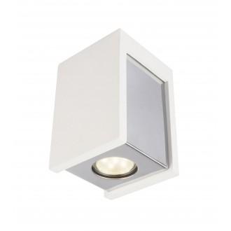 GLOBO 55010-1D | Christine-Timo Globo mennyezeti lámpa 1x GU10 króm, fehér