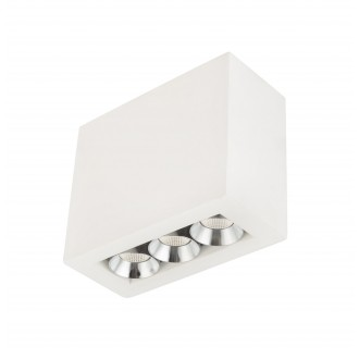 GLOBO 55010-3A | Christine-Timo Globo mennyezeti lámpa 1x LED 594lm 3000K króm, fehér