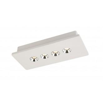 GLOBO 55010-4 | Christine-Timo Globo mennyezeti lámpa 1x LED 1323lm 3000K fehér, króm