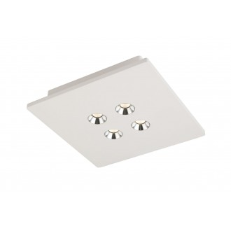 GLOBO 55010-4D | Christine-Timo Globo mennyezeti lámpa 1x LED 1323lm 3000K fehér, króm
