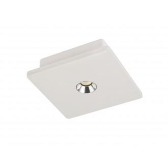 GLOBO 55010 | Christine-Timo Globo mennyezeti lámpa 1x LED 378lm 3000K fehér, króm