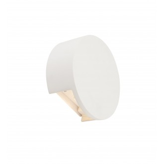 GLOBO 55010-W2 | Christine-Timo Globo fali lámpa 1x LED 615lm 3000K fehér