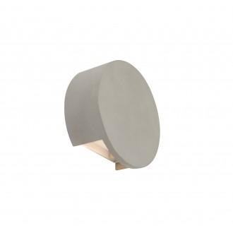 GLOBO 55011-W2 | Christine-Timo Globo fali lámpa 1x LED 615lm 3000K szürke