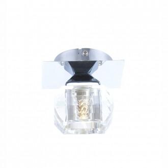 GLOBO 5692-1 | Cubus Globo mennyezeti lámpa 1x G9 króm, átlátszó