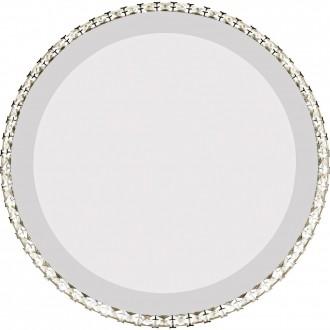 GLOBO 67037-44 | Marilyn_I Globo fali lámpa 1x LED 1071lm 4000K króm, tükör, átlátszó