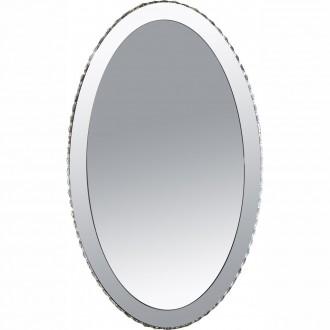 GLOBO 67038-44 | Marilyn_I Globo fali lámpa 1x LED 1075lm 4000K króm, tükör, átlátszó