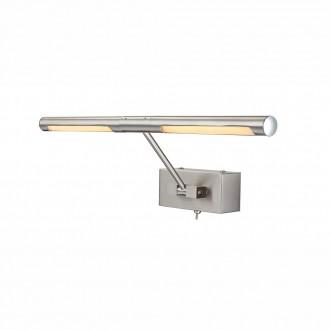 GLOBO 78300 | Picture Globo fali lámpa kapcsoló elforgatható fényforrás 2x LED 360lm 3000K króm, matt nikkel