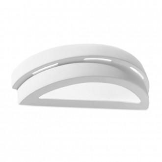 GLOBO 7854 | Junipus Globo fali lámpa festhető felület 1x E27 fehér, festhető