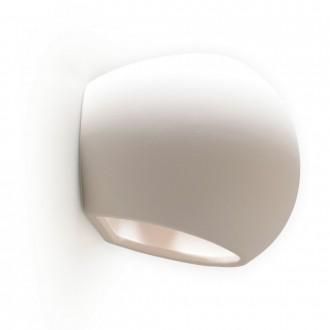 GLOBO 7856 | Junipus Globo fali lámpa festhető felület 1x E27 fehér, festhető