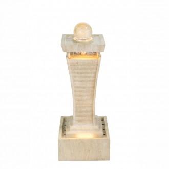 GLOBO 93029 | Globo szobaszökőkút lámpa 1x LED 76lm 2460K IP65 fehér