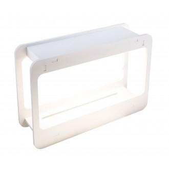 GLOBO 93102 | Dillane Globo asztali lámpa 32cm időkapcsoló 1x LED 1200lm 4000K IP54 fehér