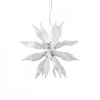 IDEAL LUX 111957 | Leaves-IL Ideal Lux függeszték lámpa - LEAVES SP8 - rövidíthető vezeték 8x G9 2400lm 3000K fehér