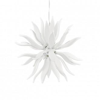 IDEAL LUX 112268 | Leaves-IL Ideal Lux függeszték lámpa - LEAVES SP12 - rövidíthető vezeték 12x G9 3600lm 3000K fehér