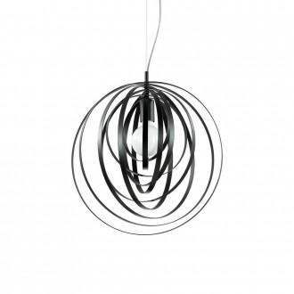 IDEAL LUX 114262 | Disco-IL Ideal Lux függeszték lámpa - DISCO SP1 NERO - elforgatható alkatrészek 1x E27 matt fekete