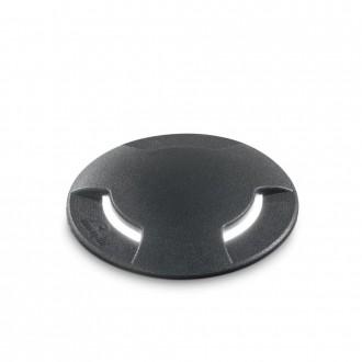 IDEAL LUX 120362   Cecilia-IL Ideal Lux beépíthető 5000 kg lámpa - CECILIA PT1 BIG - UV álló műanyag Ø160mm 160x160mm 1x GX53 800lm 4000K IP67 UV fekete