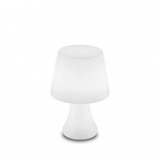 IDEAL LUX 138886 | Live Ideal Lux dekor lámpa - LIVE PT LUMETTO - kapcsoló színváltós, elemes/akkus 1x LED 70lm 4000K IP65 matt fehér