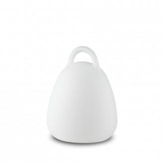 IDEAL LUX 138893 | Live Ideal Lux dekor lámpa - LIVE PT CAMPANA - kapcsoló színváltós, elemes/akkus 1x LED 70lm 4000K IP65 matt fehér