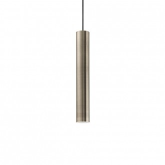 IDEAL LUX 141794 | Look-IL Ideal Lux függeszték lámpa - LOOK SP1 D06 BRUNITO - 1x GU10 2700K antikolt arany
