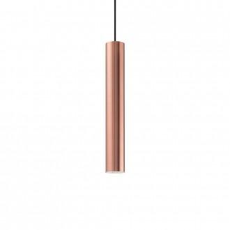IDEAL LUX 141855 | Look-IL Ideal Lux függeszték lámpa - LOOK SP1 D06 RAME - 1x GU10 2700K vörösréz