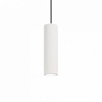 IDEAL LUX 150628 | Oak-IL Ideal Lux függeszték lámpa - OAK SP1 ROUND BIANCO - festhető 1x GU10 fehér