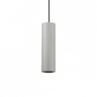 IDEAL LUX 150635 | Oak-IL Ideal Lux függeszték lámpa - OAK SP1 ROUND CEMENTO - festhető 1x GU10 szürke