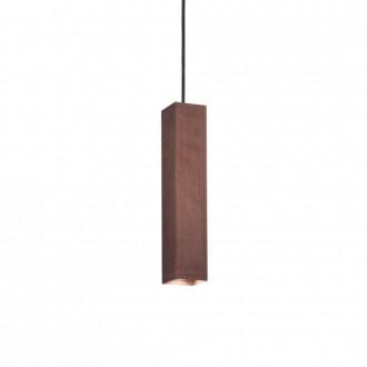 IDEAL LUX 170596 | Sky-IL Ideal Lux függeszték lámpa - SKY SP1 CORTEN - 1x GU10 400lm 3000K corten, rozsdabarna, arany